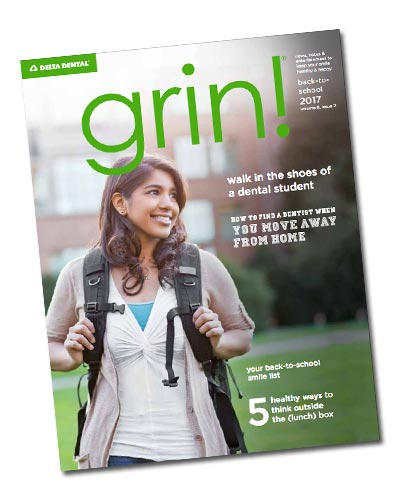 grin! Magazine cover